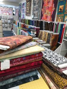 Fabric at All In Stitches