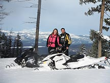 Rich Ranch Snowmobiling