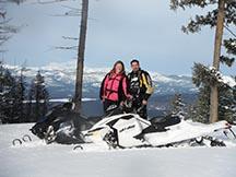 Rich Ranch Snowmobiling