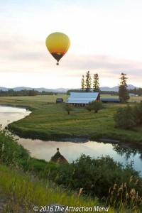 Enjoy flights over a pastoral scene