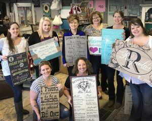 Make a custom sign at Route 56 Designs