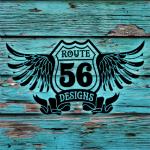 route 56 logo