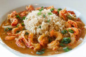 Iron Griz Rice & Shrimp Dish