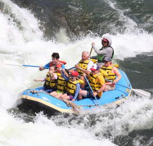 Rafting with Adventure Missoula, fun for all ages