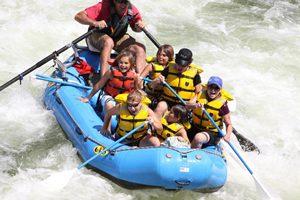 Rafting with Adventure Missoula
