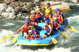 Rafting with Wild River Adventures