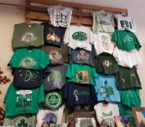 irish themed shirts at Cavanaugh's