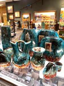 Vases at Electric Buffalo Gallery