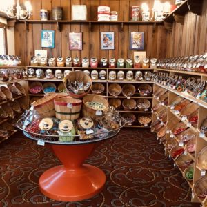 The Old West Candy & Antiques Store