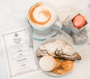 Cauccion and pastry